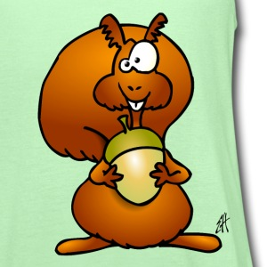 Squirrel Kids' Shirts - Women's Flowy Tank Top by Bella