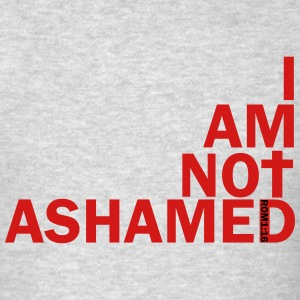 i am not ashamed red Long Sleeve Shirts - Men's T-Shirt