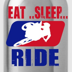 Eatsleepride2.png T-Shirts - Water Bottle
