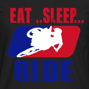 Eatsleepride2.png T-Shirts - Men's Premium Long Sleeve T-Shirt