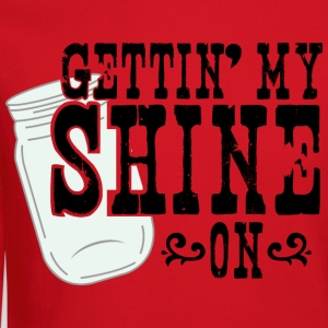 Gettin' My Shine On - Crewneck Sweatshirt