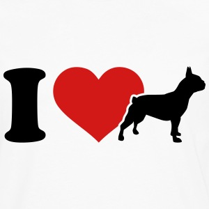 I love Bulldogs T-Shirts - Men's Premium Long Sleeve T-Shirt