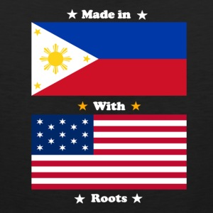 Made in Philippines with american roots - Men's Premium Tank