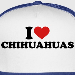 I love Chihuahuas Women's T-Shirts - Trucker Cap