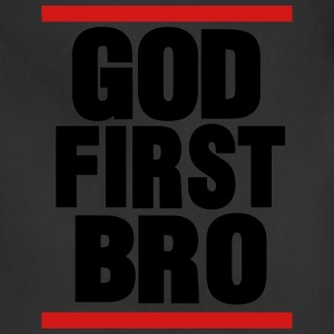 GOD FIRST BRO Hoodies - Adjustable Apron