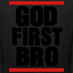 GOD FIRST BRO Hoodies - Men's Premium Tank