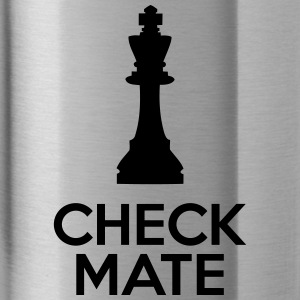 Checkmate Caps - Water Bottle