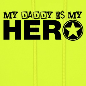 my daddy is my hero Baby & Toddler Shirts - Men's Hoodie