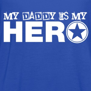 my daddy is my hero Kids' Shirts - Women's Flowy Tank Top by Bella
