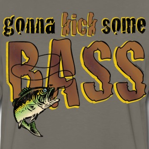Kick Bass T-Shirt - Men's Premium Long Sleeve T-Shirt