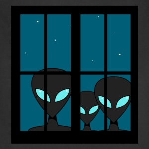Aliens Window Abduction - Adjustable Apron