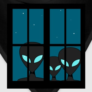 Aliens Window Abduction - Bandana