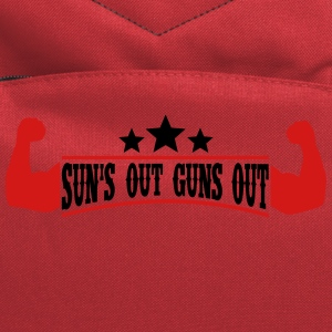 Sun's out Guns out Tank Tops - Computer Backpack