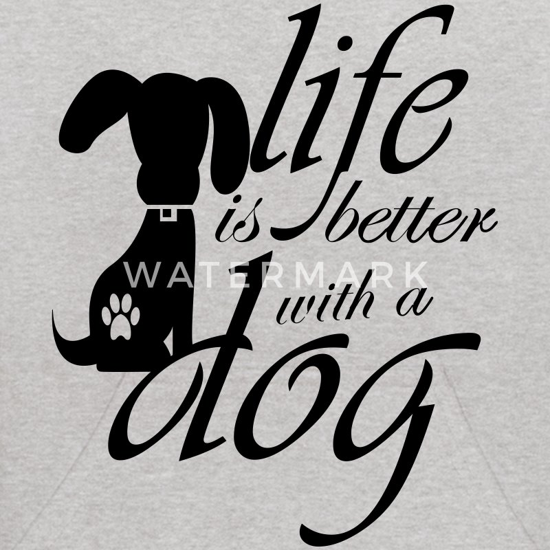 Life is better with a dog Sweatshirts - Kids' Hoodie