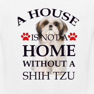 i house is  not a home without a shih tzu T-Shirts - Men's Premium Tank