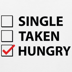 Single Taken Hungry - Men's Premium Tank