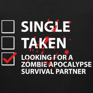 Single Taken Survival Partner - Men's Premium Tank