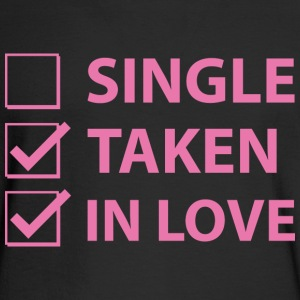 Single Taken In Love - Men's Long Sleeve T-Shirt