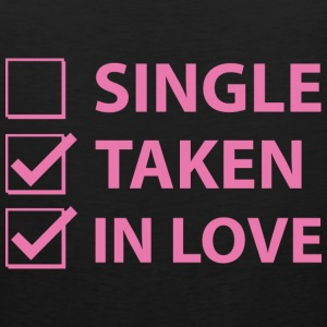 Single Taken In Love - Men's Premium Tank