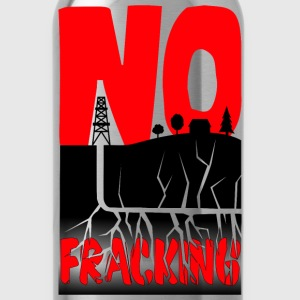 No Fracking - Water Bottle