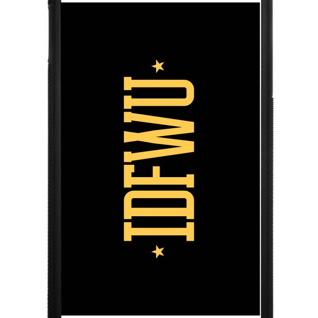 #IDFWU - iPhone 6 Rubber Case