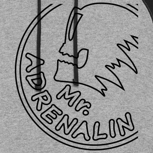 Mr. Adrenalin extreme sport T-Shirts - Colorblock Hoodie