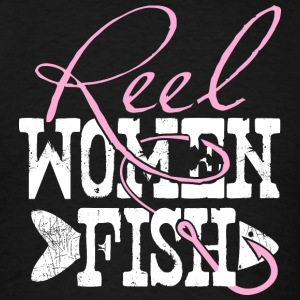 Reel Women Fish Tanks - Men's T-Shirt