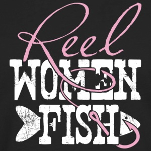 Reel Women Fish - Men's Premium Long Sleeve T-Shirt