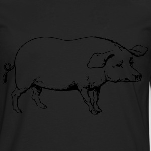 Pig 1 - Men's Premium Long Sleeve T-Shirt