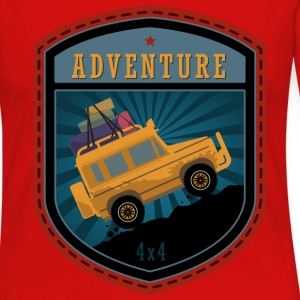 Jeep Adventures emblem - Women's Premium Long Sleeve T-Shirt