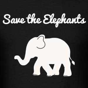Save the elephants hoodie - Men's T-Shirt
