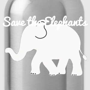 Save the elephants hoodie - Water Bottle