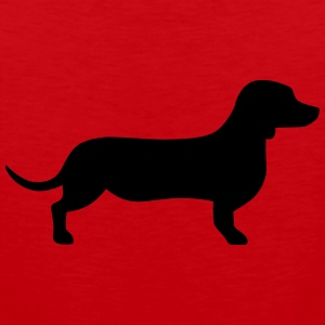 Dachshund Kids' Shirts - Men's Premium Tank