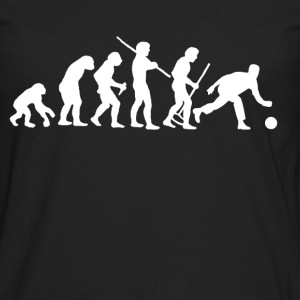 Evolution of Bowling Women's T-Shirts - Men's Premium Long Sleeve T-Shirt
