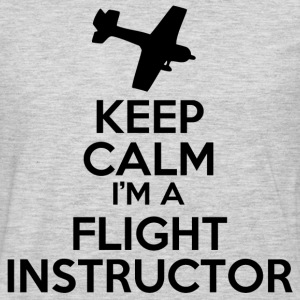 Flight Instructor T-Shirts - Men's Premium Long Sleeve T-Shirt