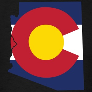 Arizona Colorado Long Sleeve Shirts - Men's T-Shirt