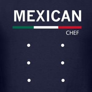 Mexican Chef - Men's T-Shirt
