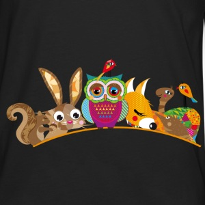 eight forest animals Bags & backpacks - Men's Premium Long Sleeve T-Shirt