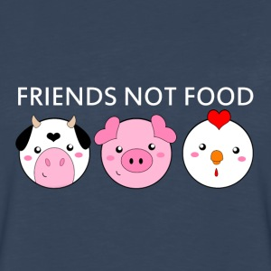 Animals Are Friends Not Food - Men's Premium Long Sleeve T-Shirt