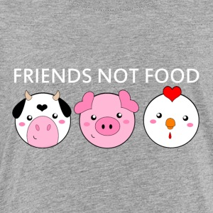 Animals Are Friends Not Food - Toddler Premium T-Shirt