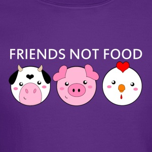 Animals Are Friends Not Food - Crewneck Sweatshirt