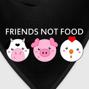 Animals Are Friends Not Food - Bandana