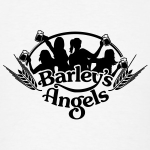 Barley's Angels long sleeve crew  - Men's T-Shirt