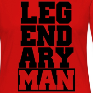 Legendary man - Women's Premium Long Sleeve T-Shirt