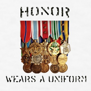 Honor Medals Full Mugs & Drinkware - Men's T-Shirt