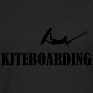 Kiteboard,Kiteboarder,Kite,Kiteboarding,Sea,Board T-Shirts - Men's Premium Long Sleeve T-Shirt