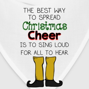 Christmas Cheer Buddy Elf T-Shirts - Bandana