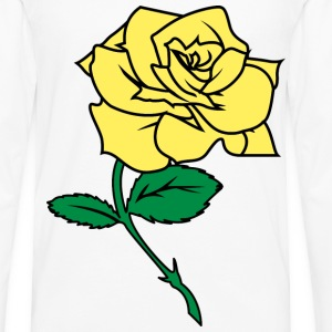 Yellow Rose - Men's Premium Long Sleeve T-Shirt
