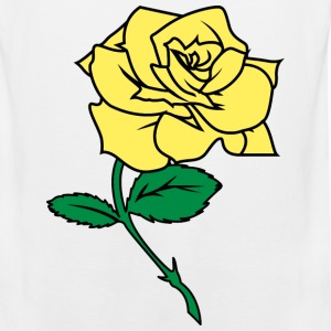 Yellow Rose - Men's Premium Tank