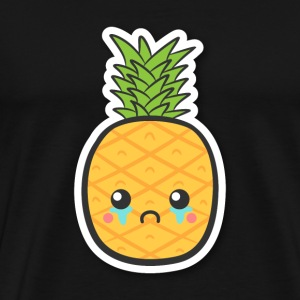 cute but sad pineapple T-Shirts - Men's Premium T-Shirt